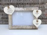 Shabby personalised Chic Photo Frame In Memory Of Sister ~ Loved One Or Any Name